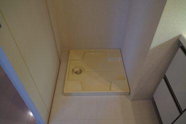 室内洗濯機置き場があるって結構重要なポイント。