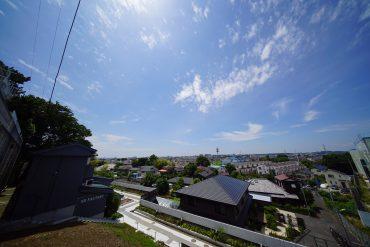 晴れていれば富士山がのぞめます