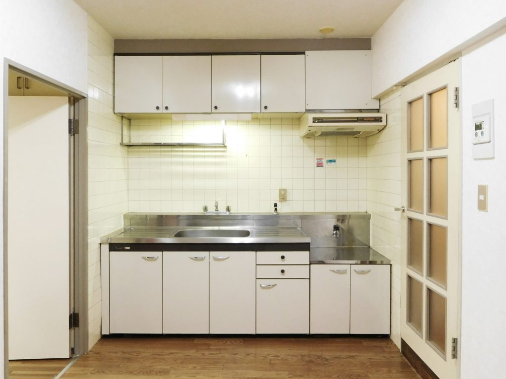 充実したキッチン