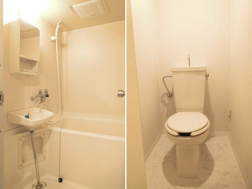 お風呂トイレは清潔感があります