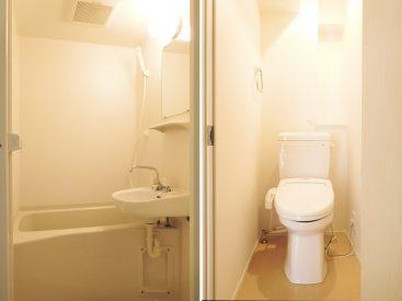お風呂とトイレはぴかぴか