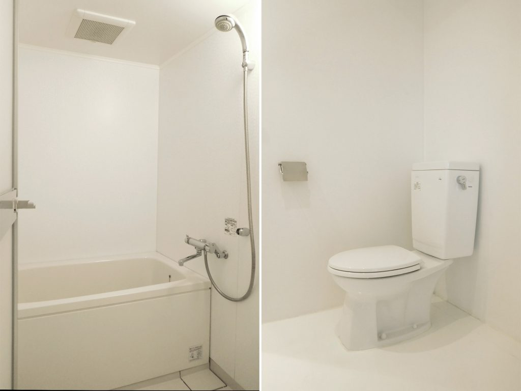 お風呂・トイレも使いやすさ重視のシンプルなつくり。