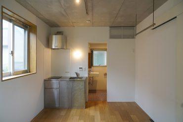 ひとり暮らしには十分な大きさのお部屋。