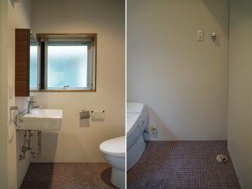 洗面室には、爽やかな朝を演出してくれる小窓があります。