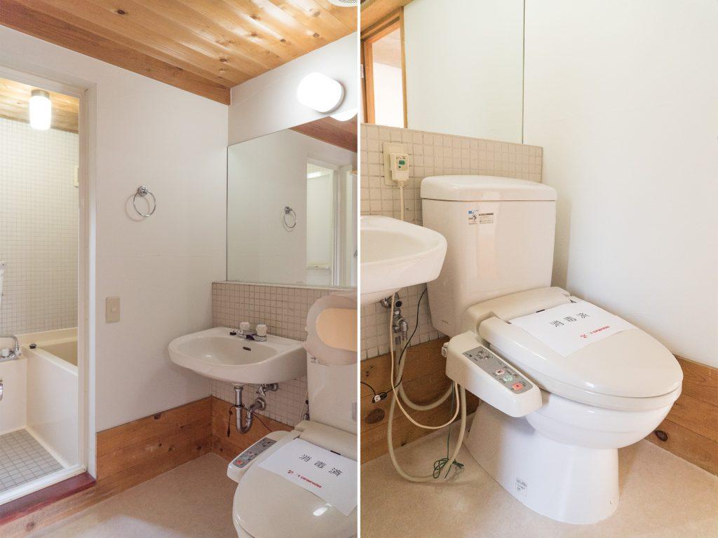 洗面・トイレ・お風呂。