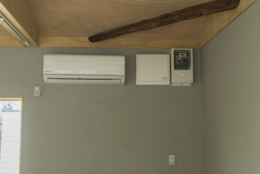 個々の設備はエアコンのみです。