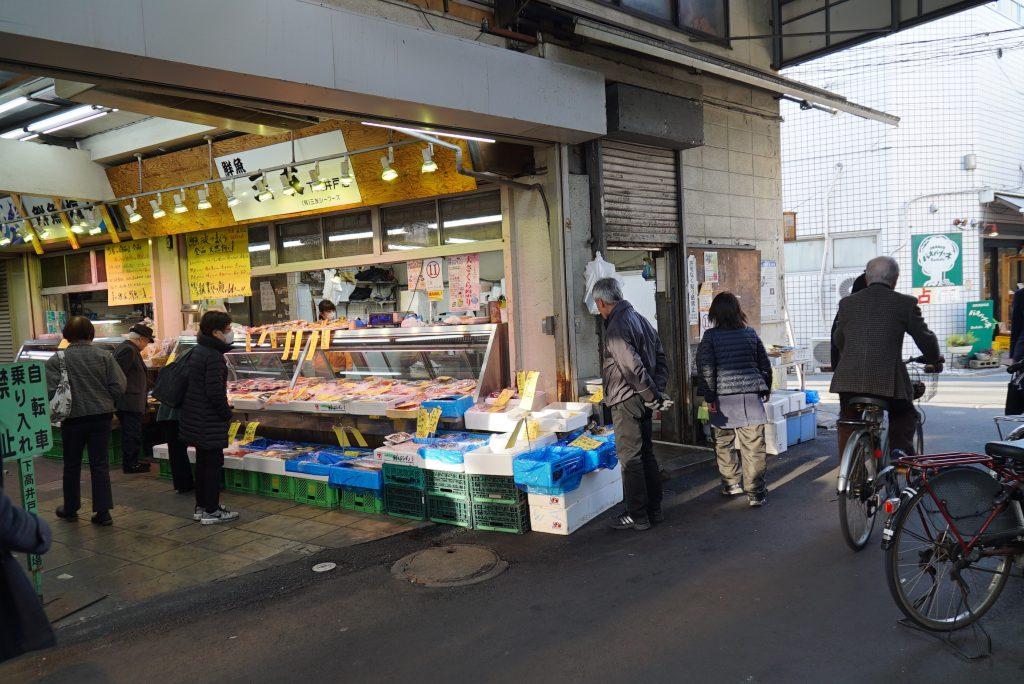 下高井戸駅周辺はローカルさも残っていて貴重な場所