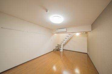 地下1階の洋室。8.6帖の大きさもあります。