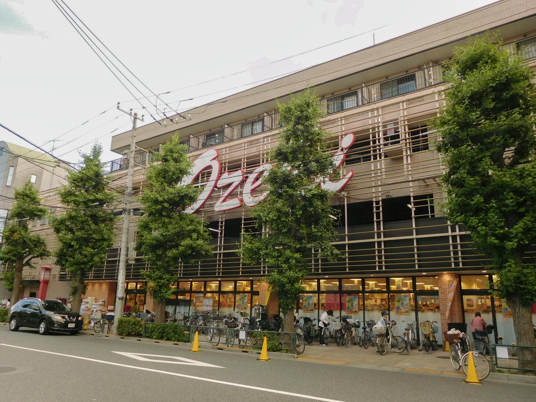 オオゼキ上町店(外観)