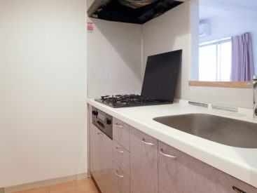 すこし古さはありますが、キッチン設備、収納ともに文句ありません。