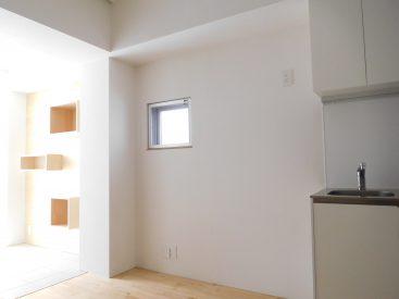 清潔感のある白いお部屋