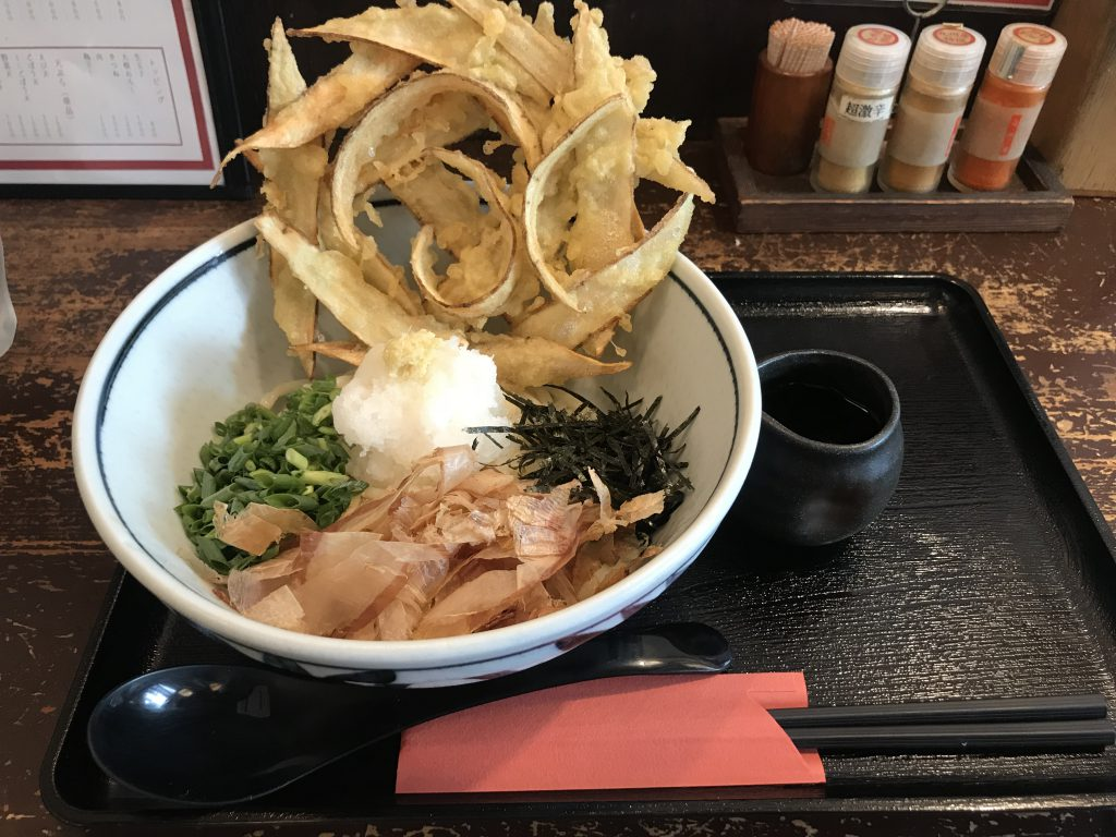 武膳のごぼうおろしさっぱりでおいしい〜!