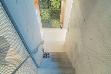 お部屋入り口を入った階下がお部屋。