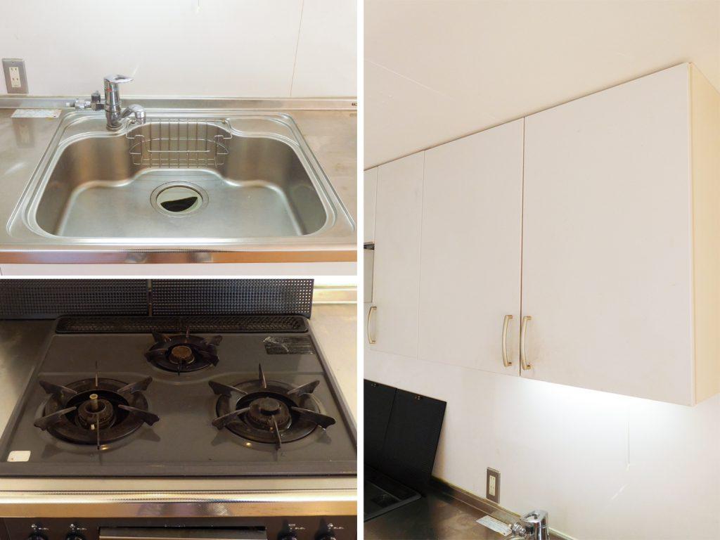 キッチンの設備は文句なし。