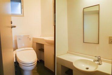 トイレです(内装)
