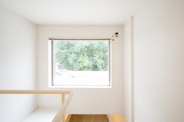 みどりが望めるこの窓、やっぱり好きだな。