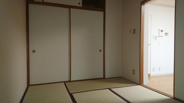 張り替えたばかりの畳のすてきな香りが心地よい