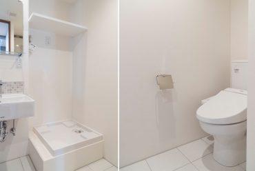 洗濯機置き場*トイレ(内装)