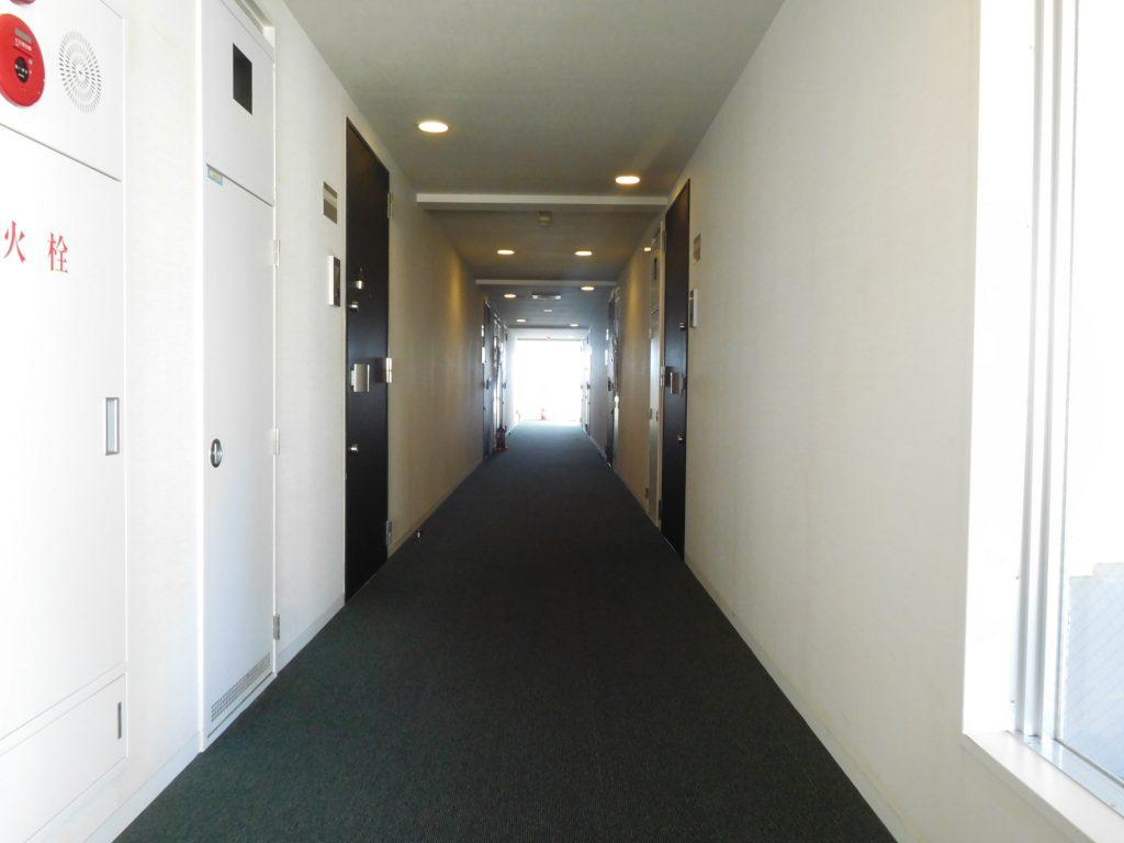内廊下でペットが逃げ出しても安心☆