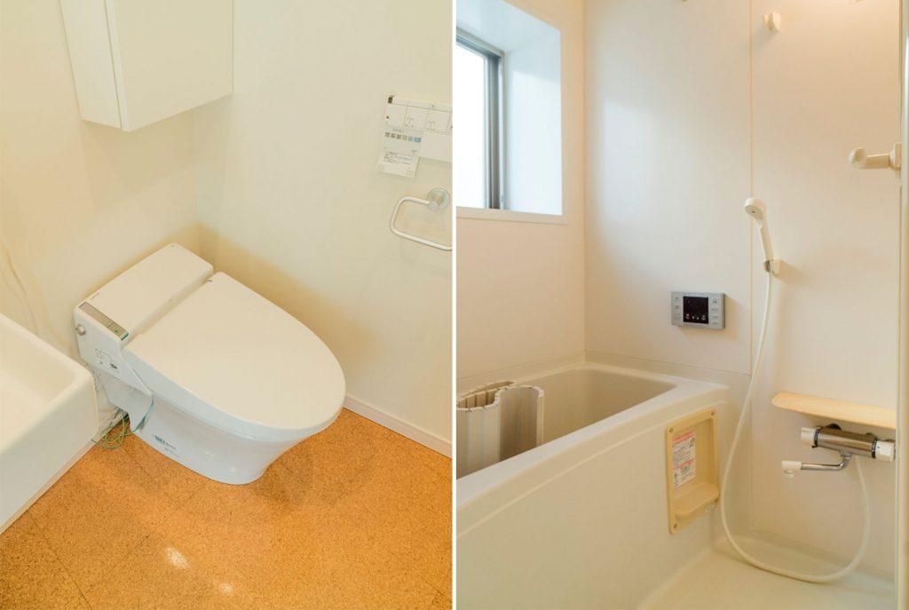お風呂とトイレです。(風呂)