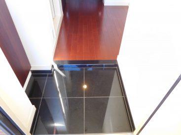 床材が大理石の玄関ホール、かっこいい
