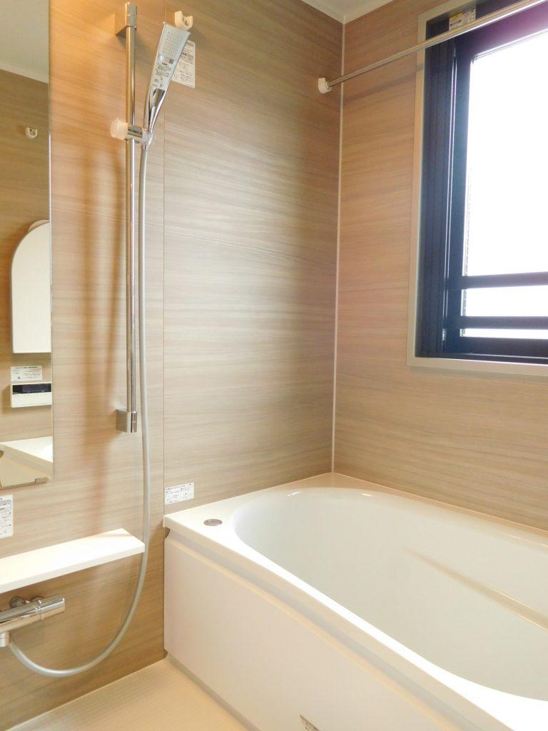 浴室は日当たりも良好☆