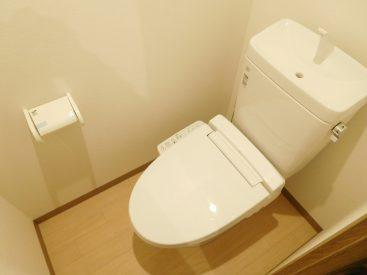 トイレも新型を採用。