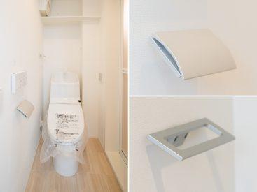 トイレはもちろん新品。