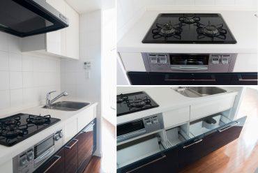 収納、広さも十分なキッチン。(キッチン)