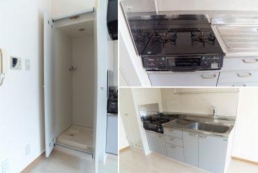 キッチンの隣に、洗濯機!(キッチン)