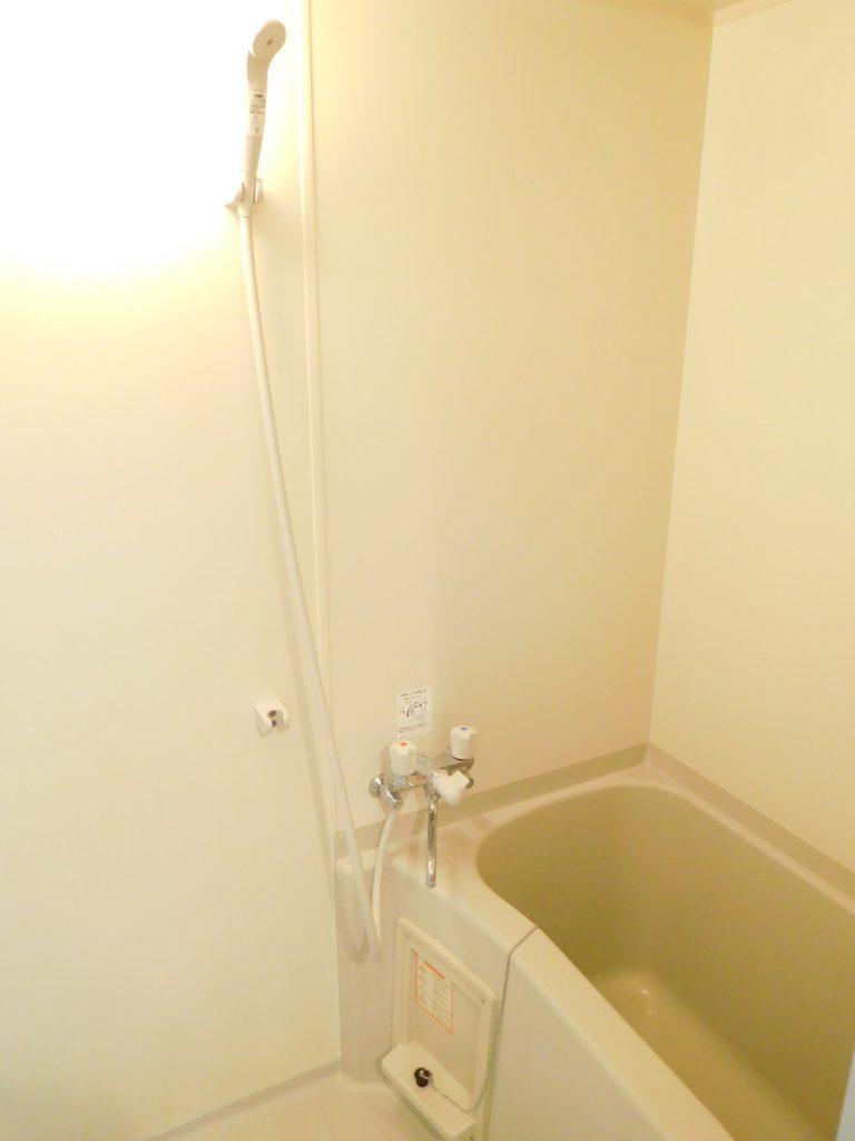 浴室はシンプルな形式