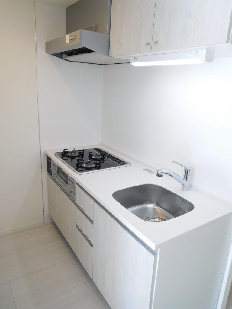 キッチンはやっぱり清潔感が一番!