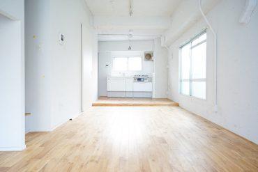 キッチンは室内の一角に