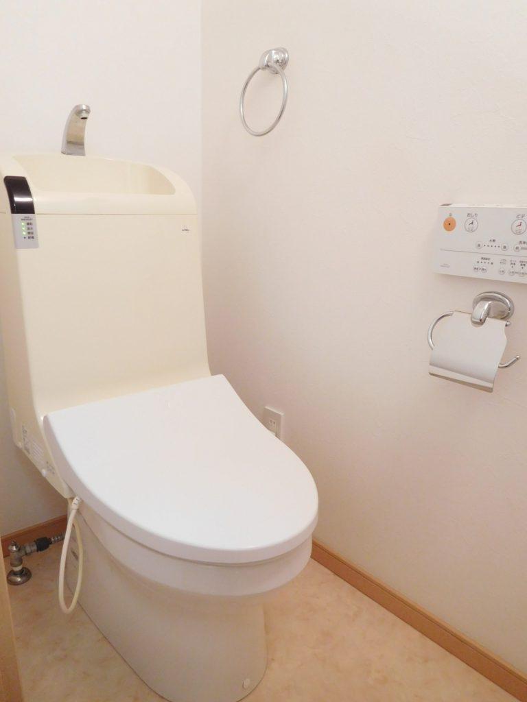トイレもピカピカな上、広いです