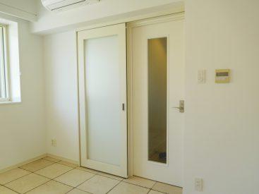 二重扉。思う存分音楽できます。