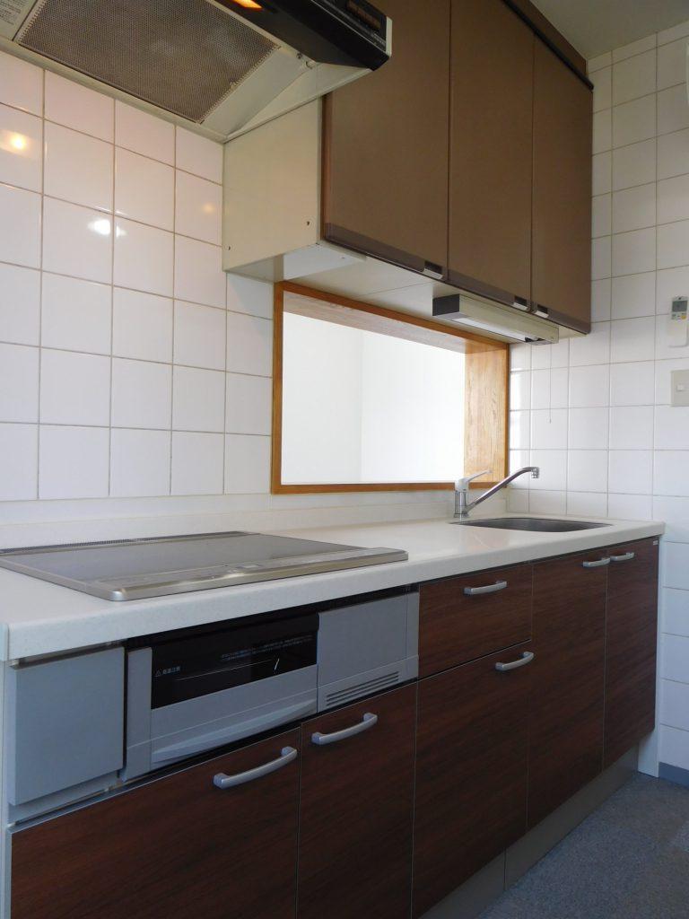 オール電化のキッチンです
