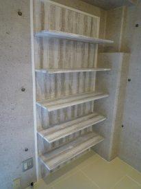 収納としても飾り棚としても使えます