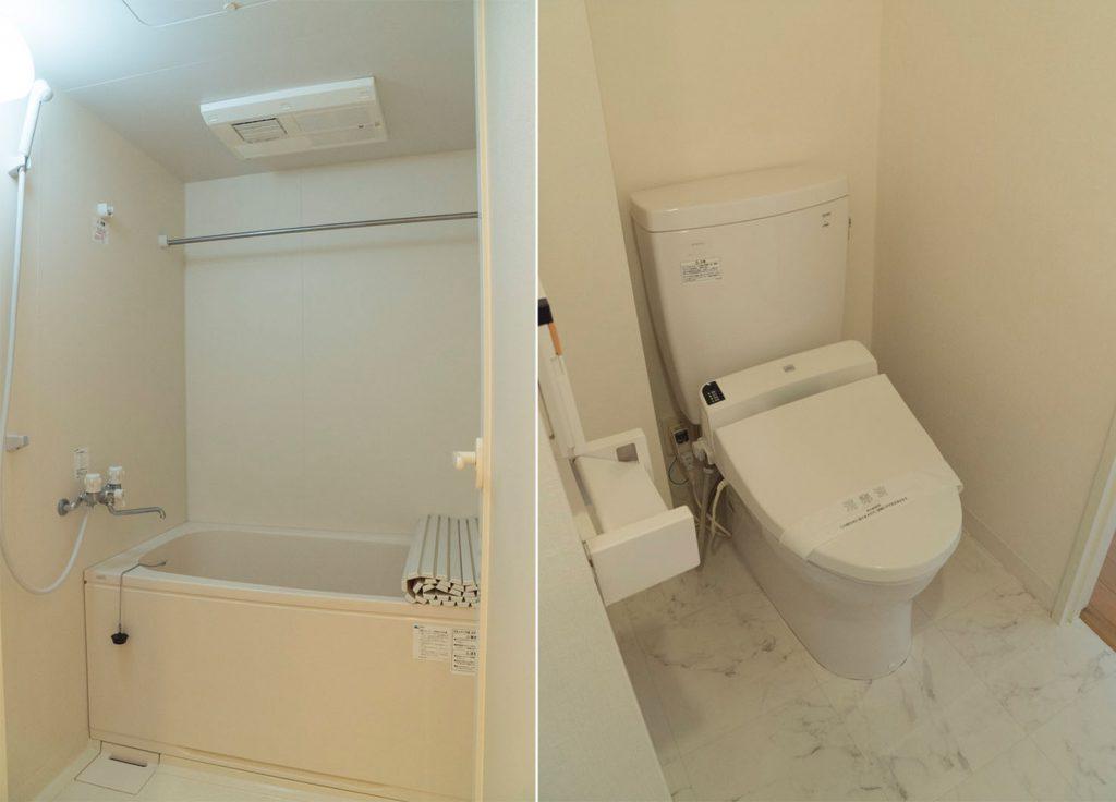 浴室暖房・乾燥機つき。