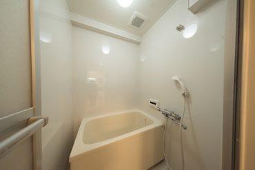 お風呂、掃除はこまめにすれば大丈夫。