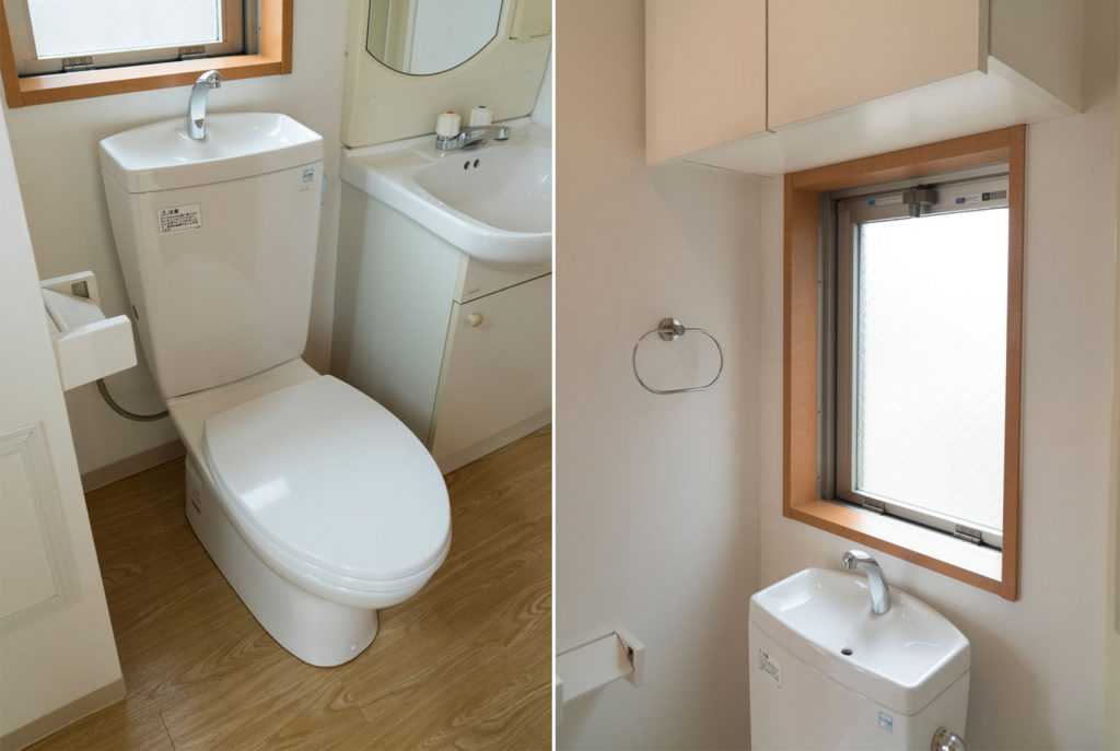 トイレにもちゃんと窓。