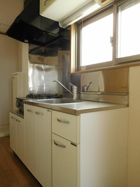 作業場広めなキッチン