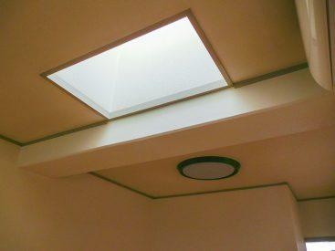 天窓があるんです。