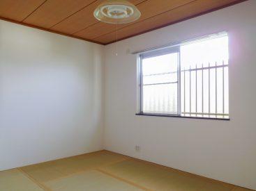 2階、北向きの和室。
