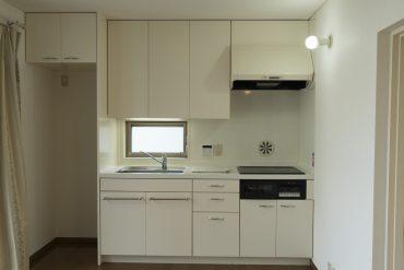 ゆったりとしたキッチン。