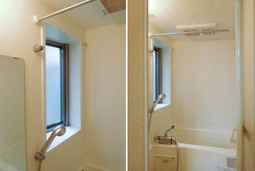 お風呂に窓があって換気助かる〜。