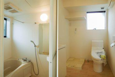 お風呂にもトイレにも窓があります。