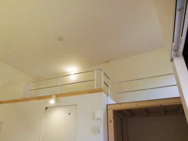 天井高いです。
