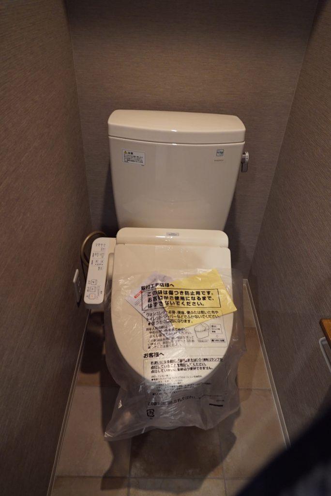 トイレも交換したばかり