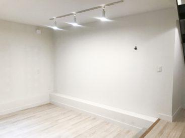 地下のしずかなお部屋です。