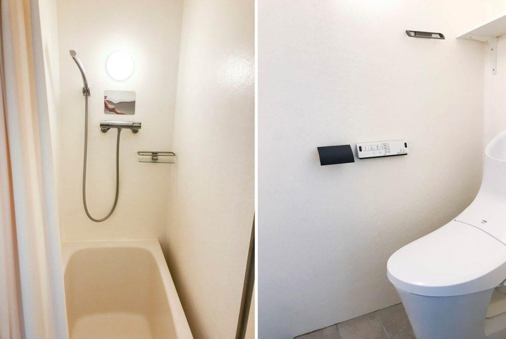 お風呂とトイレは同室です。